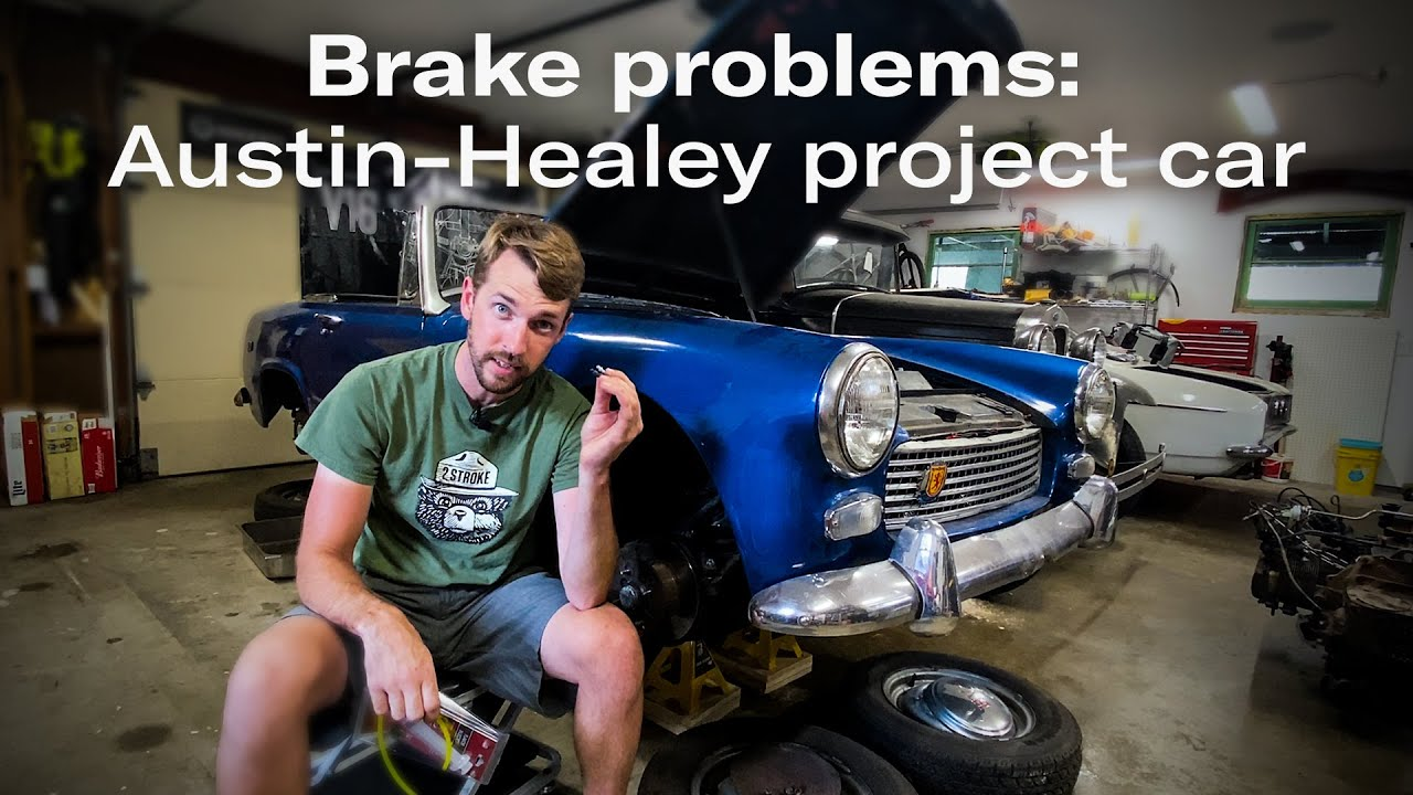 Bleeding the hydraulic system: Austin-Healey Sprite project car