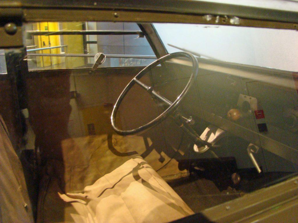 1939 Citroen 2CV cabin