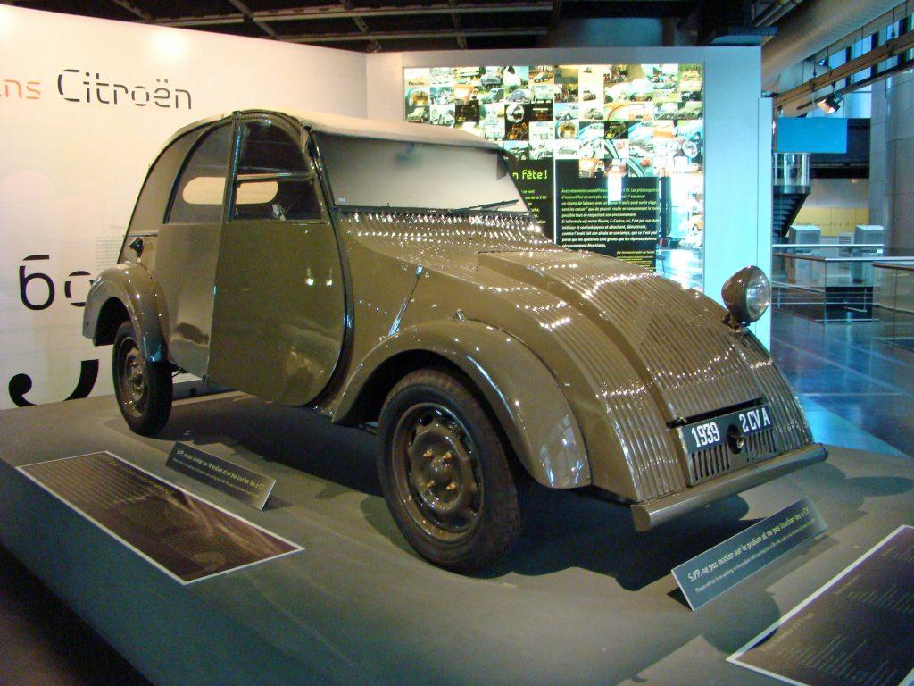 1939 Citroen 2CV pre-war history