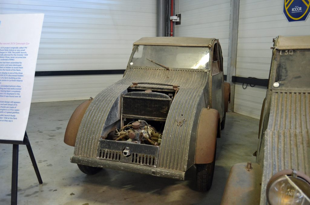Très petite voiture: the mythical car that gave rise to the Citroën 2CV