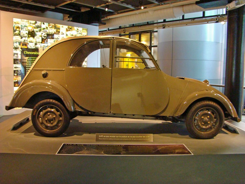 1939 Citroen 2CV pre-war