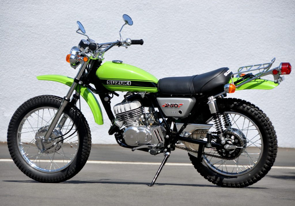 Classic trail bikes to buy_Suzuki TS250