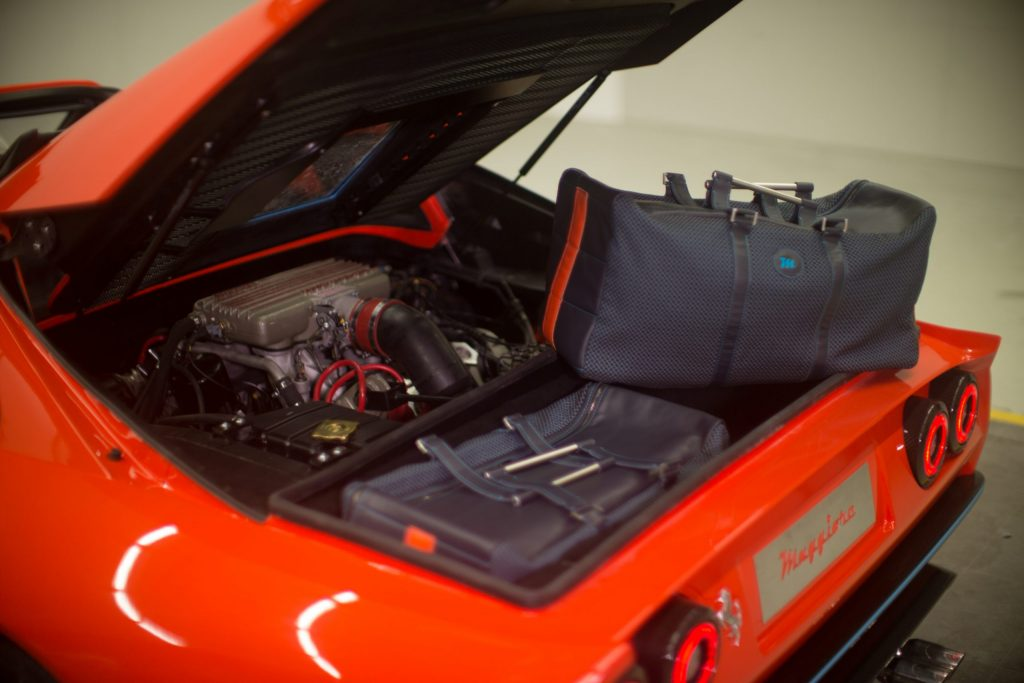Maggiore 308M restomod V8 engine