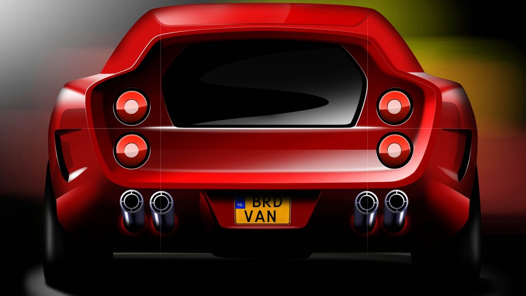 How Niels van Roij created the modern Ferrari Breadvan
