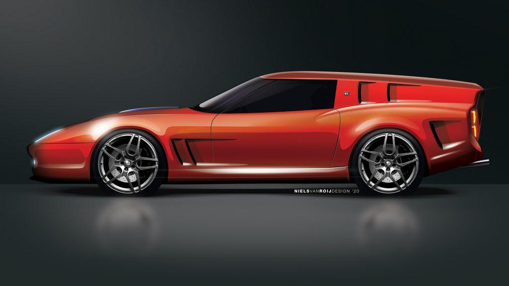 Interview with Niels van Roij who created the modern Ferrari Breadvan