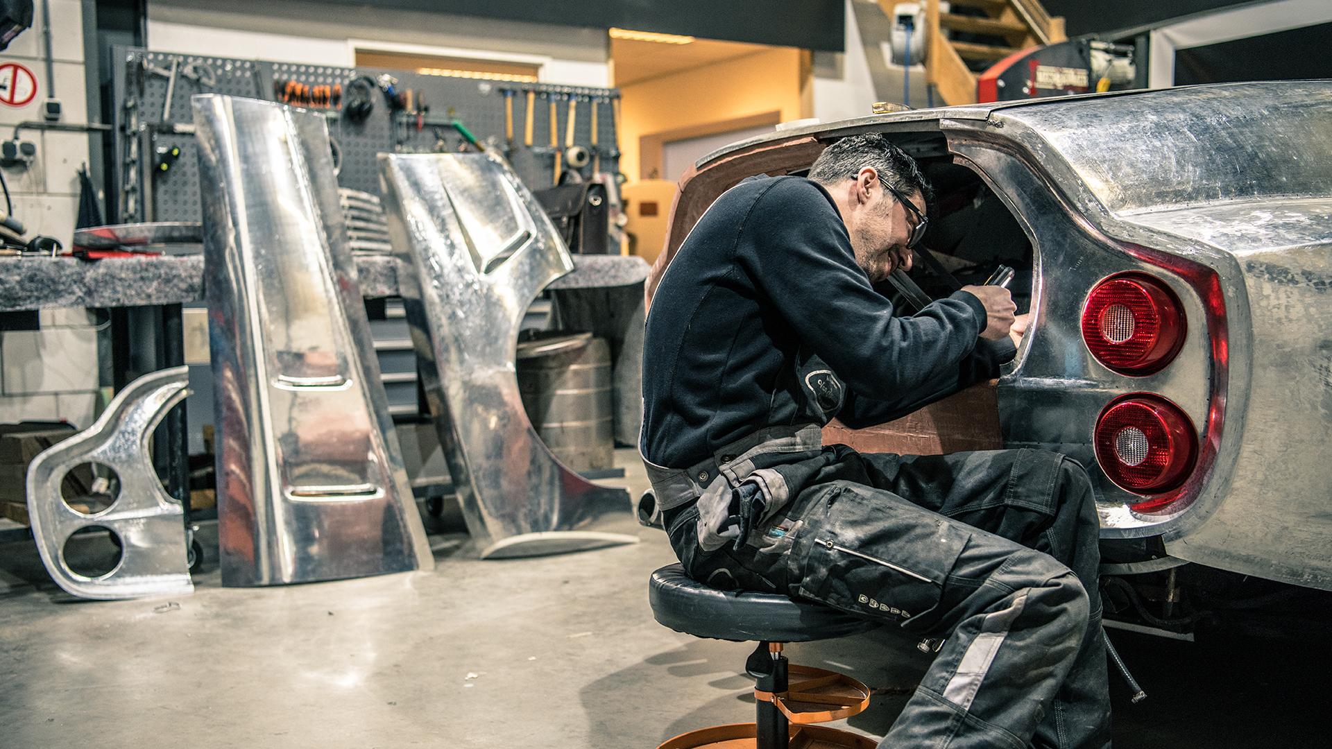 How Niels van Roij, creator of the Ferrari Breadvan Hommage, makes dreams come true