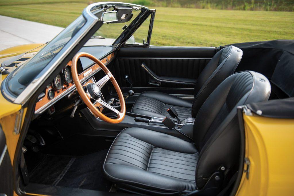 Fiat Dino Spider interior Hagerty