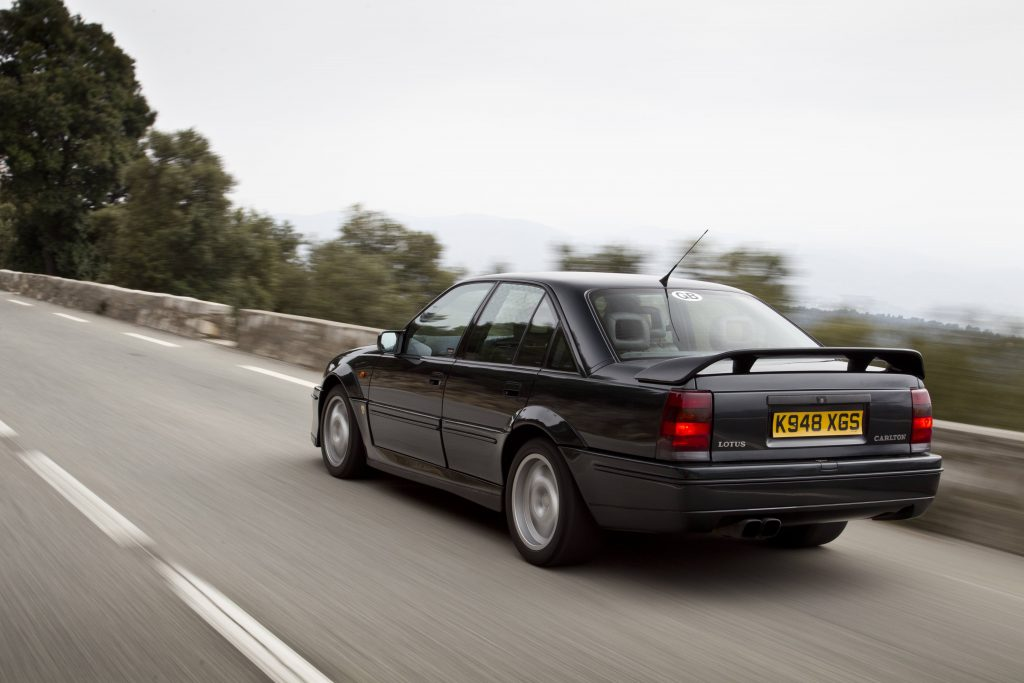 The story of the Lotus Carlton by the man who created it, Mike Kimberley