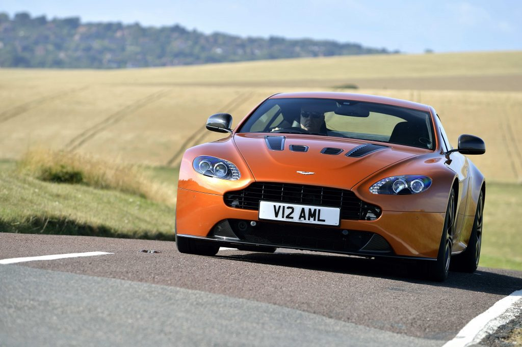 Andrew Frankel Aston Martin V12 Vantage