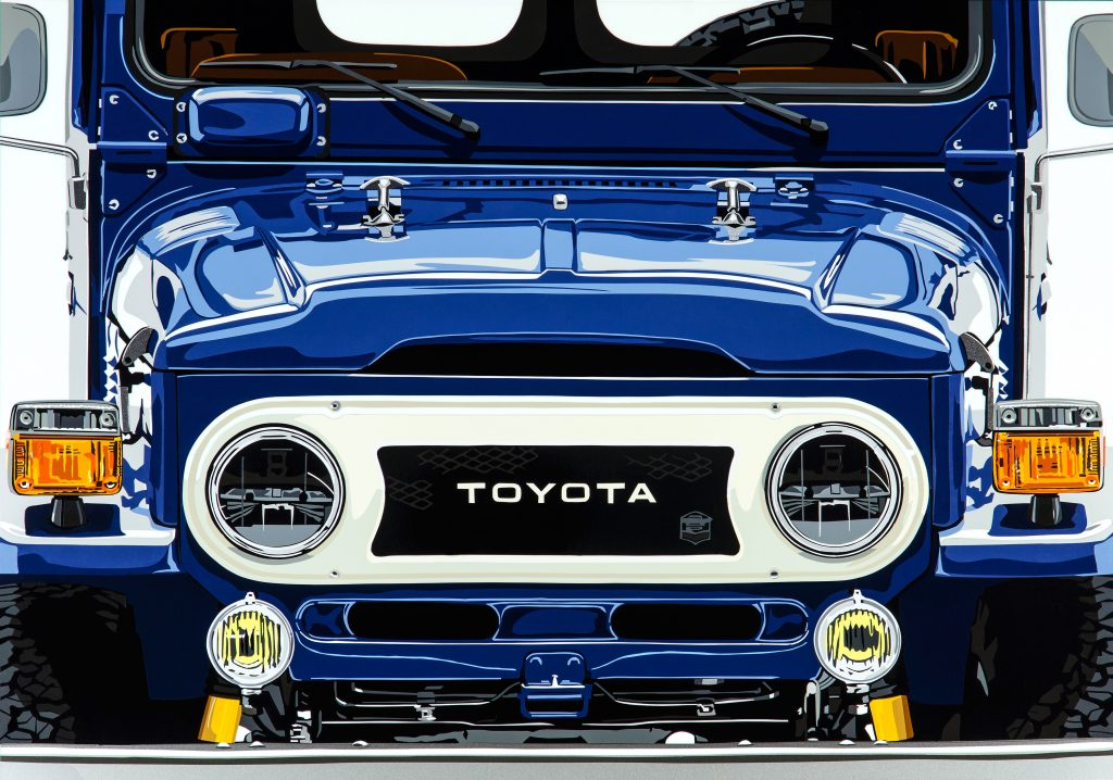Toyota Land Cruiser by Joel Clark artist