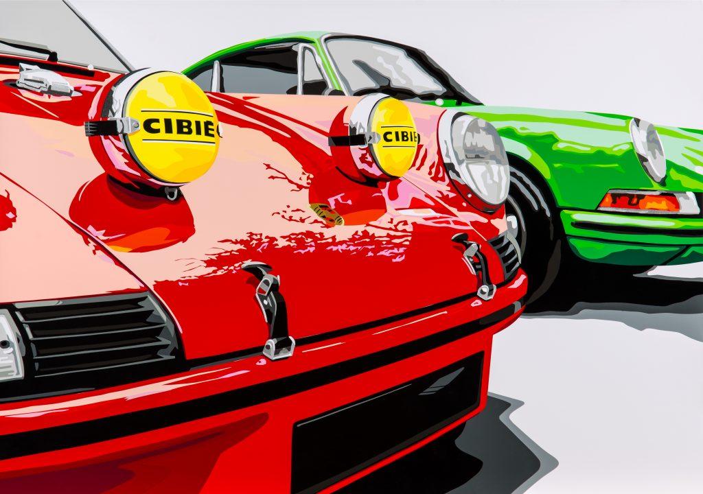 Joel Clark's Porsche 911 vinyl series