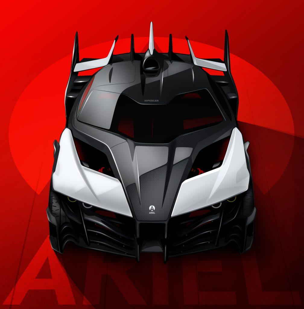 Ariel Hipercar EV project