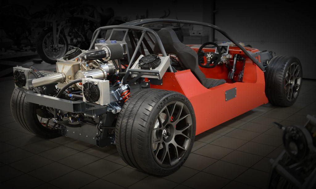 Ariel Hipercar EV range extender project