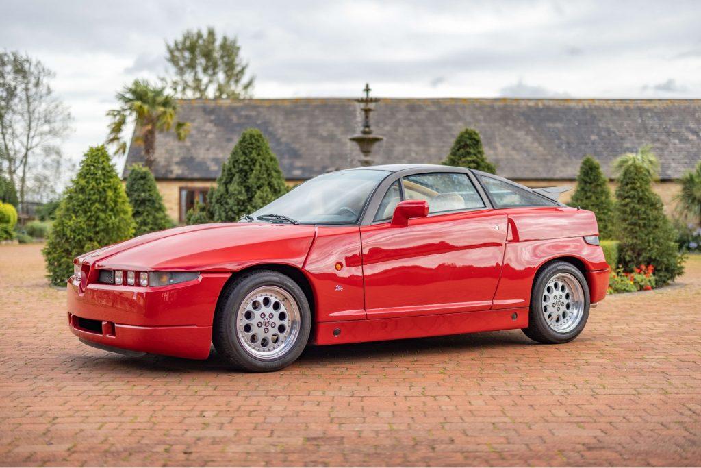 Alfa Romeo SZ profile view