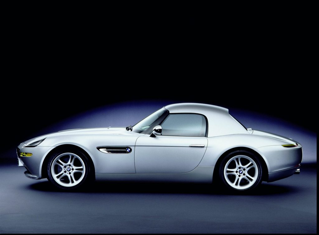BMW Z8 with hardtop roof