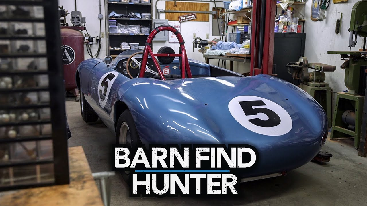 Tom Cotter meets an engineering genius with a thing for British cars | Barn Find Hunter