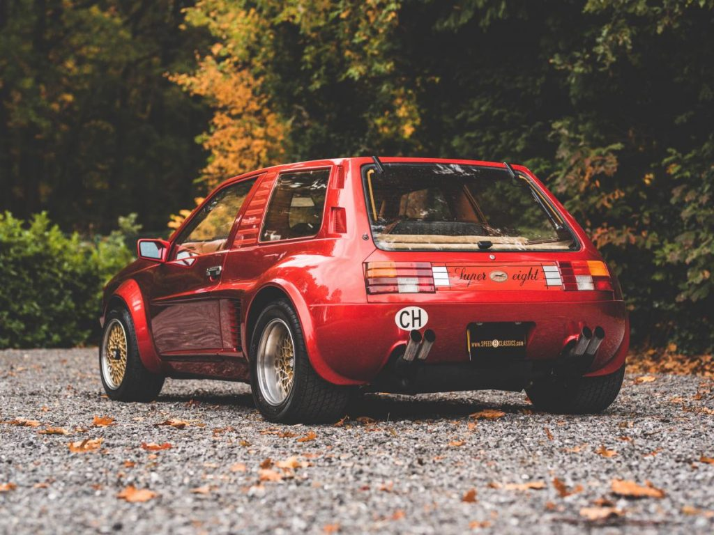 The Sbarro Super Eight is mid-engined madness