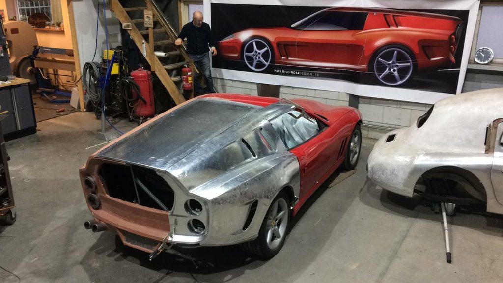 Ferrari Breadvan Hommage clay