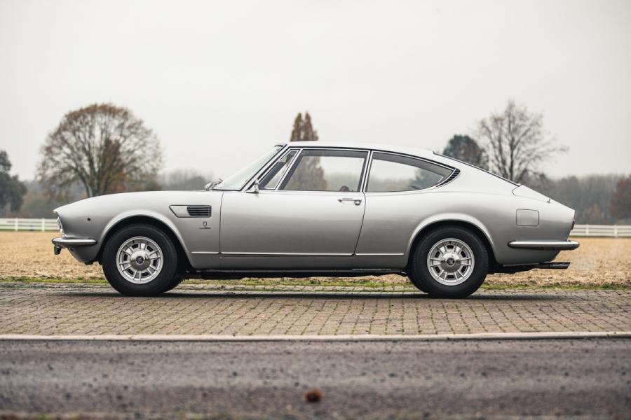 Fiat Dino coupe profile