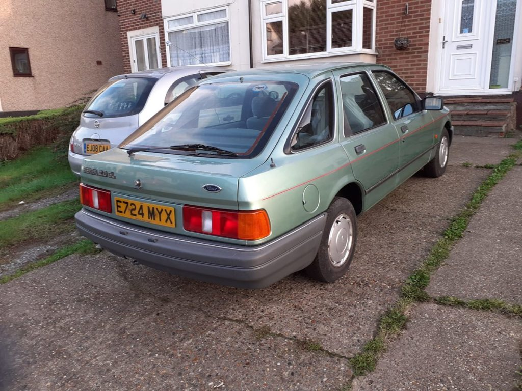 Ford Sierra for sale_Unexceptional classic cars_Hagerty
