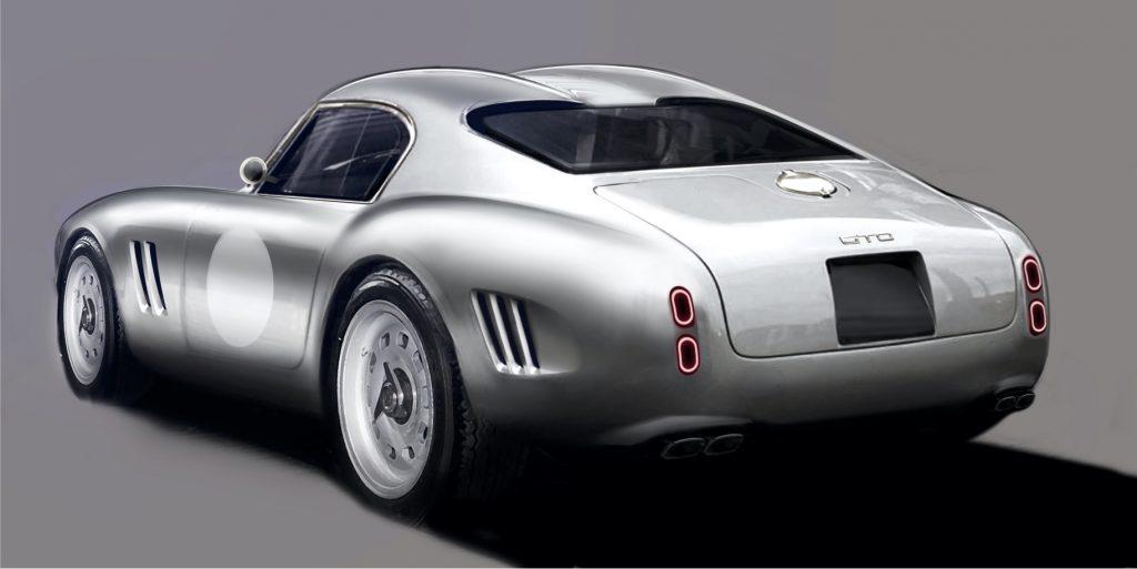 GTO Engineering teases retro-inspired 'Moderna'  GT sports car