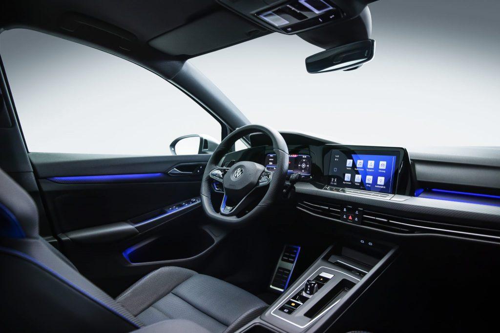 2021 Volkswagen Golf R interior