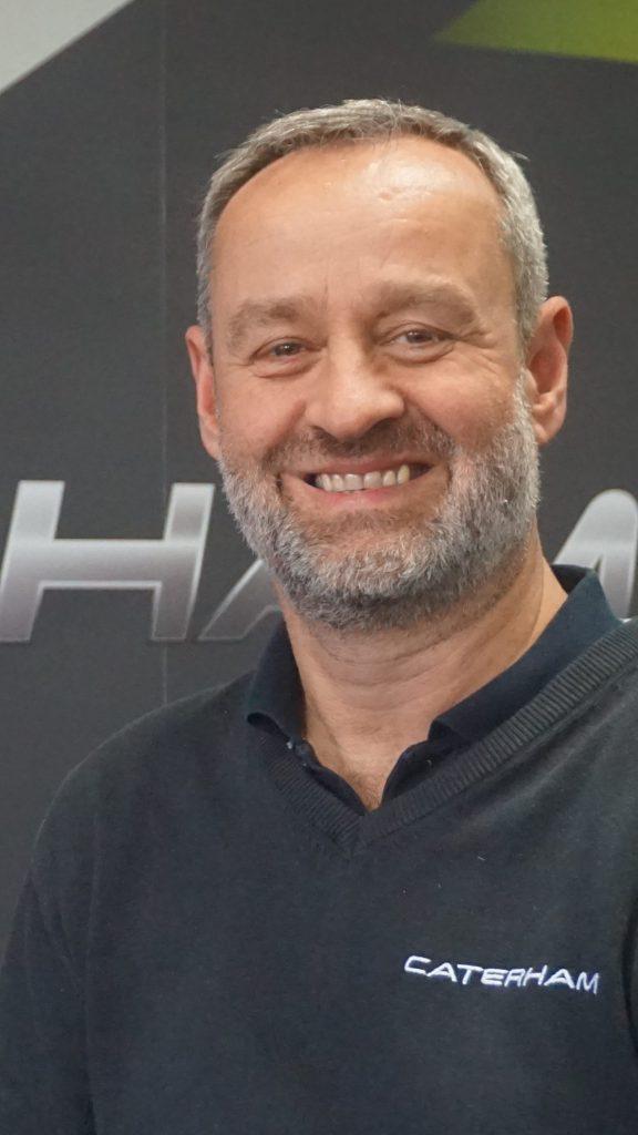 Graham MacDonald of Caterham discusses electric cars