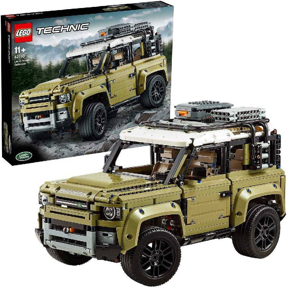 Lego Land Rover Defender_2020 Christmas gift ideas for car enthusiasts_Hagerty