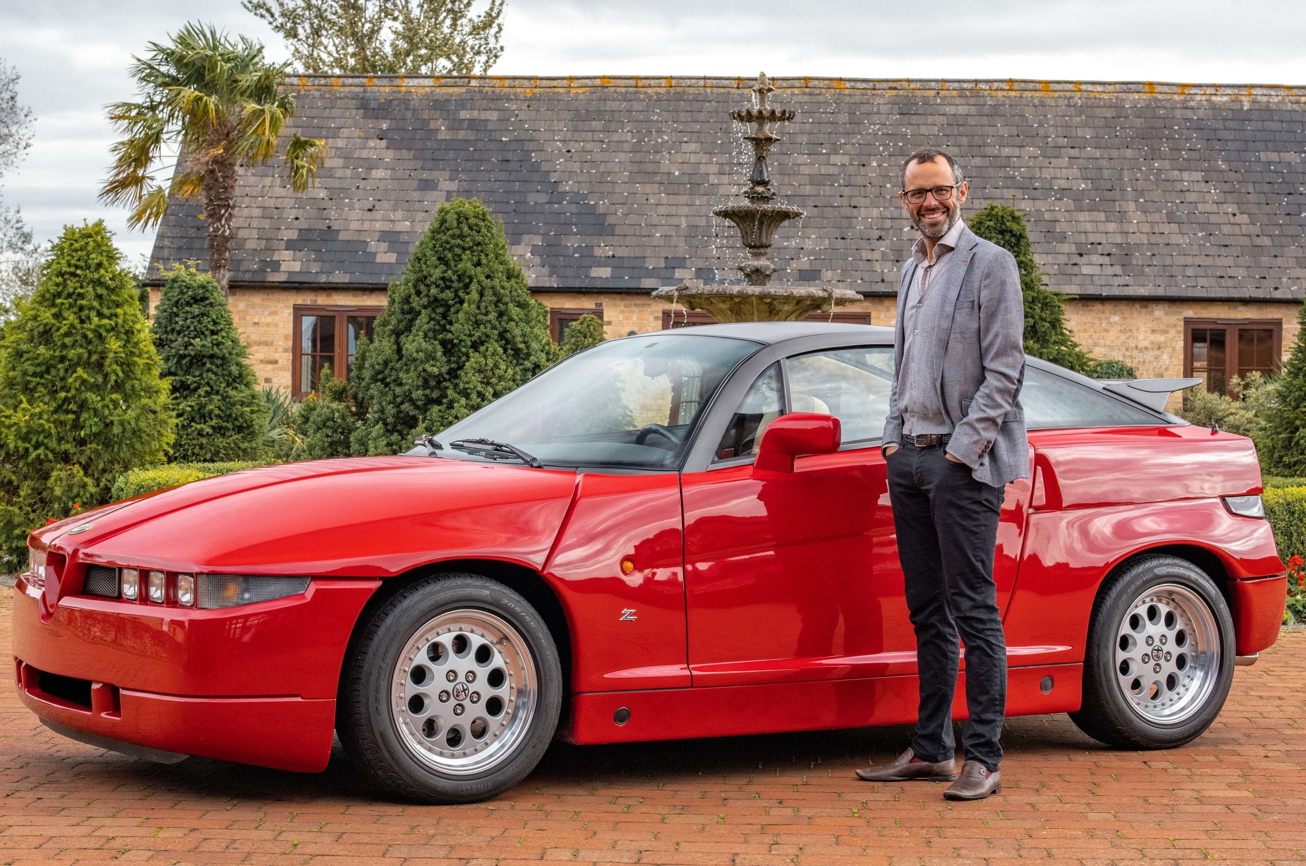 Finding my father's Alfa Romeo SZ