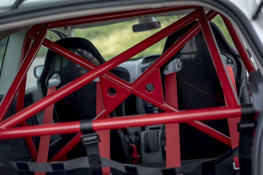 Renault Megane R26R roll cage