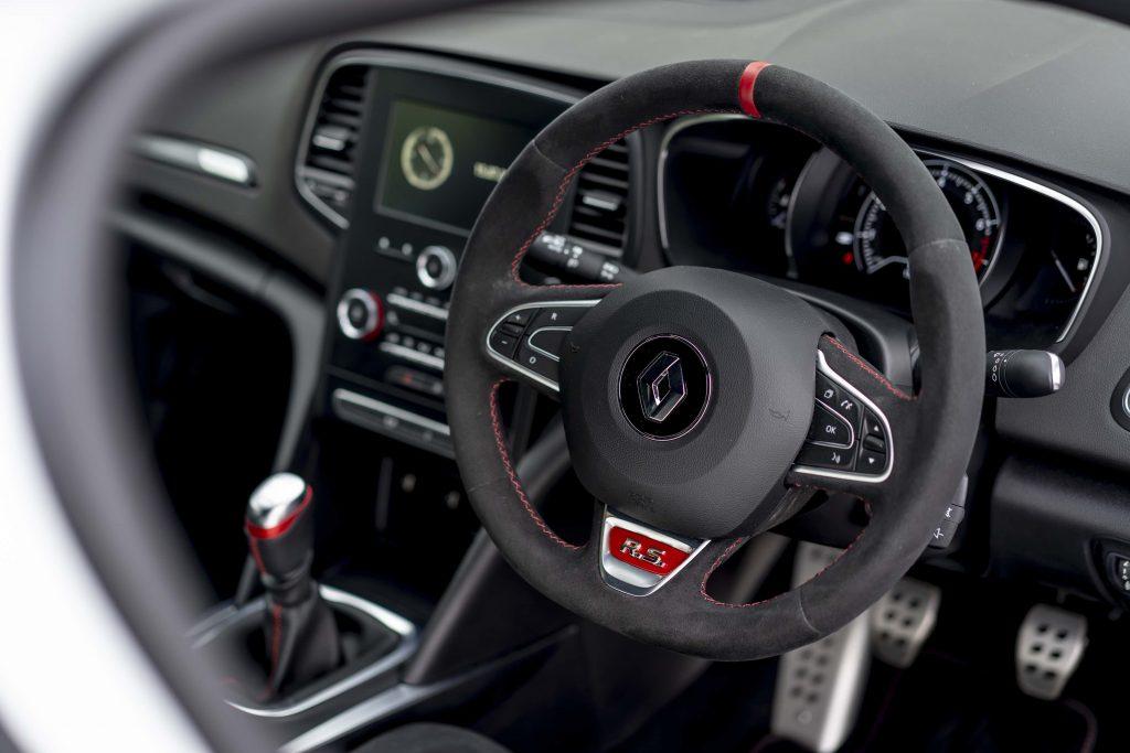 Renault Megane trophy R interior