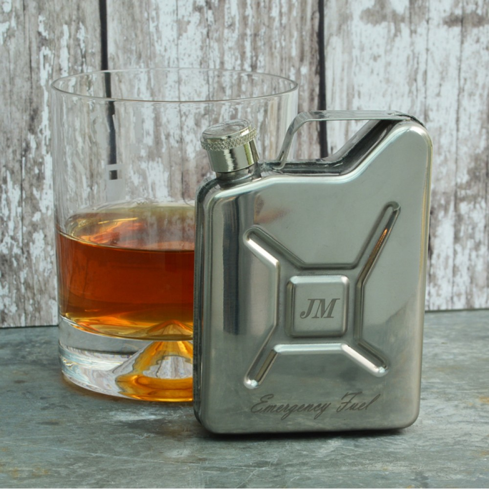 Hip flask jerrycan_2020 Christmas gift ideas for car enthusiasts_Hagerty