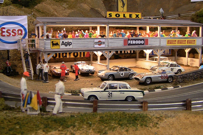 Why everyone wants a Slot Mods 1:32-scale race track