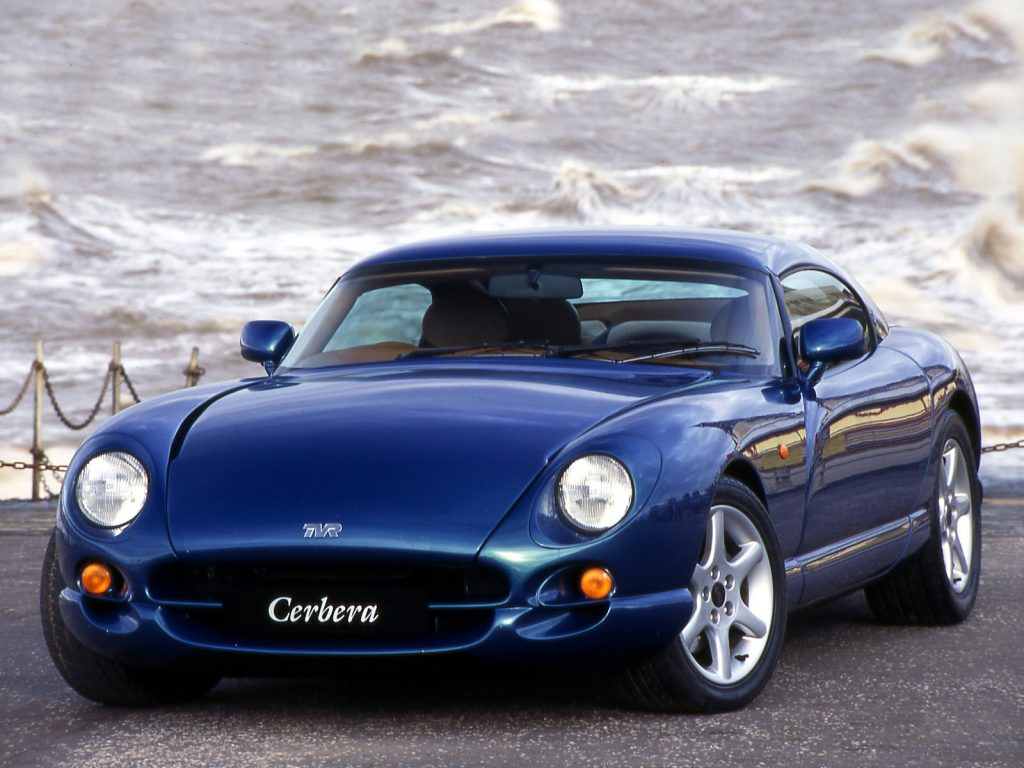 According to the Hagerty Price Guide the TVR Cerbera may not be ideal for restoration