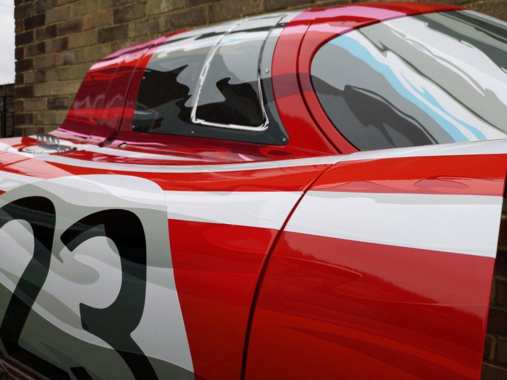 Three dimensional art work by Joel Clark_Porsche 917