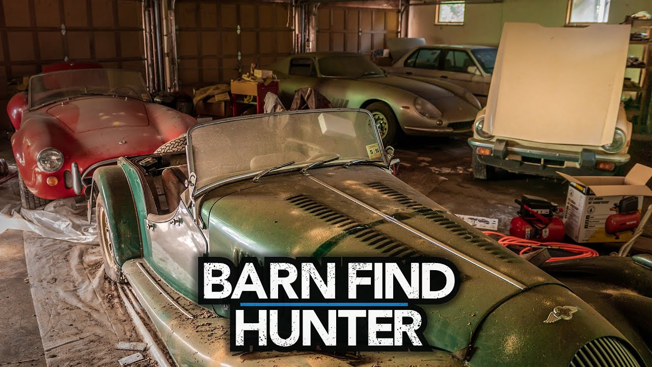 Rescuing a Triumph TR6 and Morgan Plus 8 | Barn Find Hunter