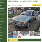 Unexceptional classifieds: Ford Sierra 2.0GL automatic_Hagerty