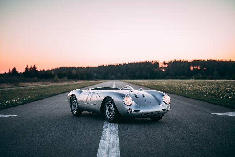 Picture-perfect Picasso Porsche 550 Spyder for sale