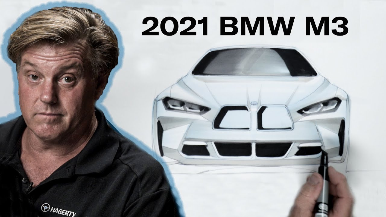 Is the 2021 BMW M3 beyond saving? | Chip Foose Draws a Car