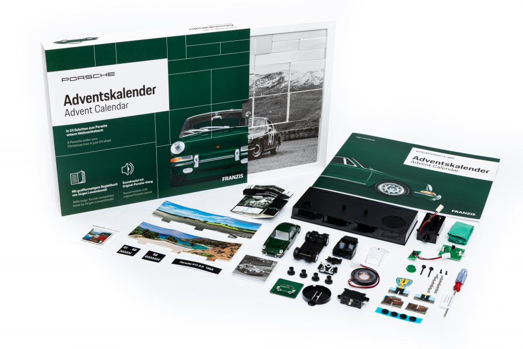 Build a Porsche 911 advent calendar_2020 Christmas gift ideas for car enthusiasts_Hagerty