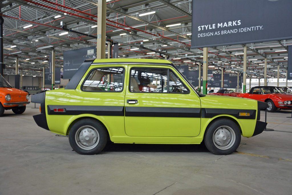 Fiat ESV 1500 prototype safety car 1972