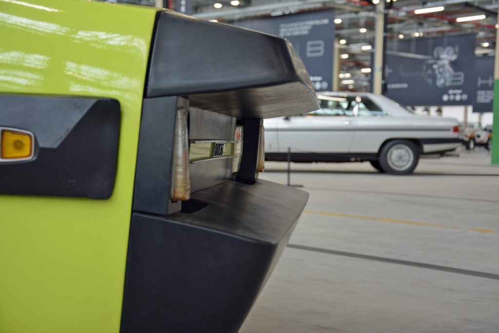 Fiat ESV 1500 prototype bumpers 1972
