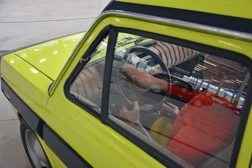 Fiat ESV 1500 prototype interior 1972