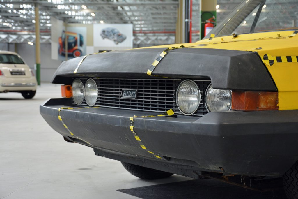 Fiat ESV 2000 prototype bumpers from 1972