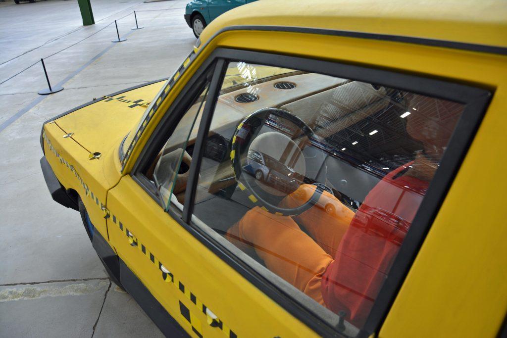 Fiat ESV 2000 prototype interior from 1972