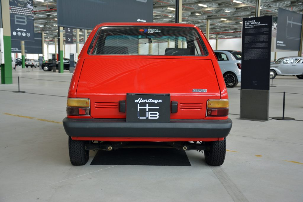 Fiat X1/23 prototype rear view of 1972