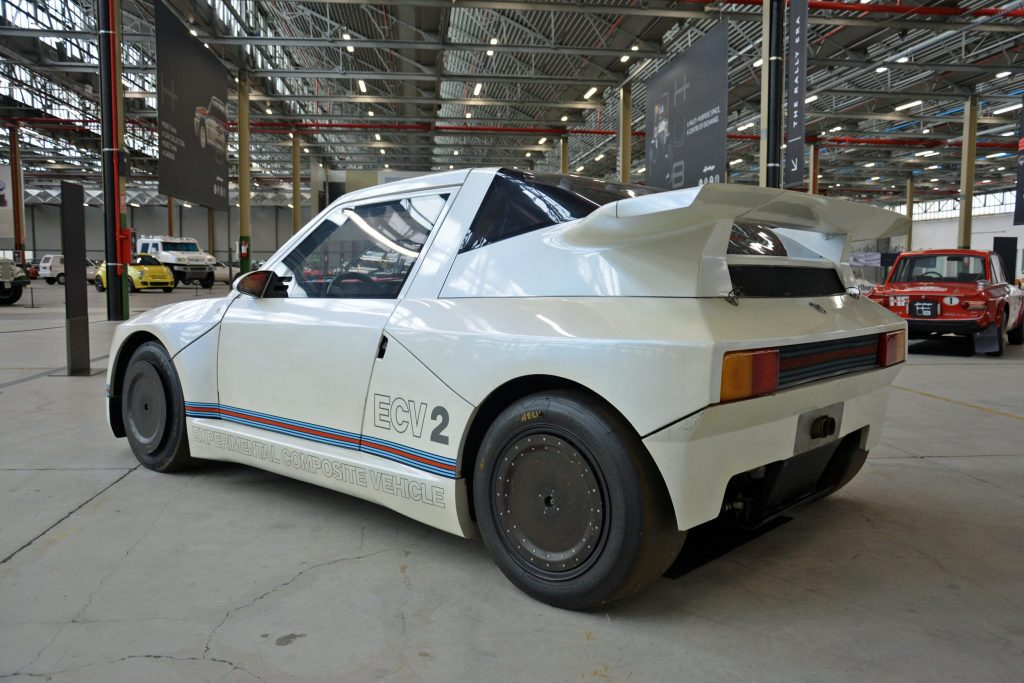 Lancia ECV 2 prototype rally car of 1988