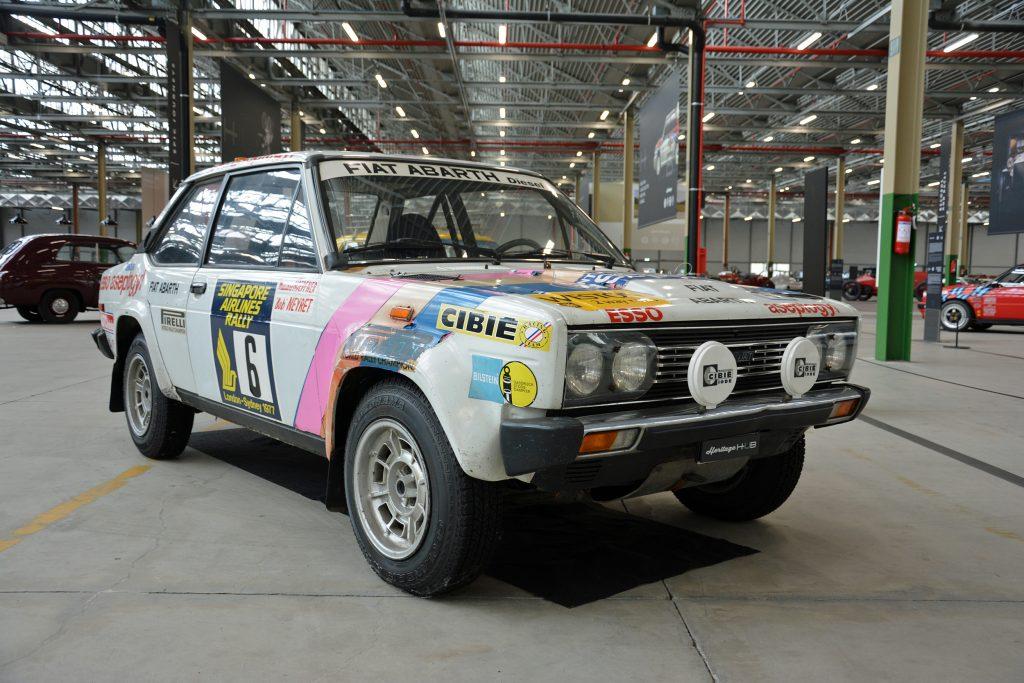 Fiat-Abarth 131 Diesel prototype of 1977
