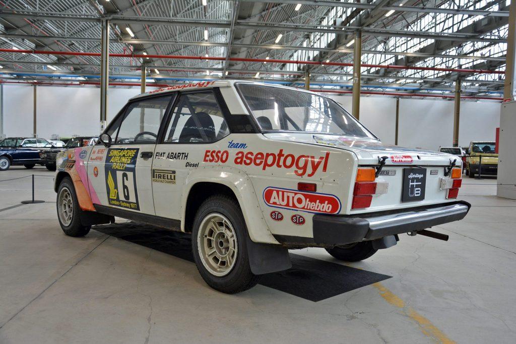 Fiat-Abarth 131 Diesel of 1977