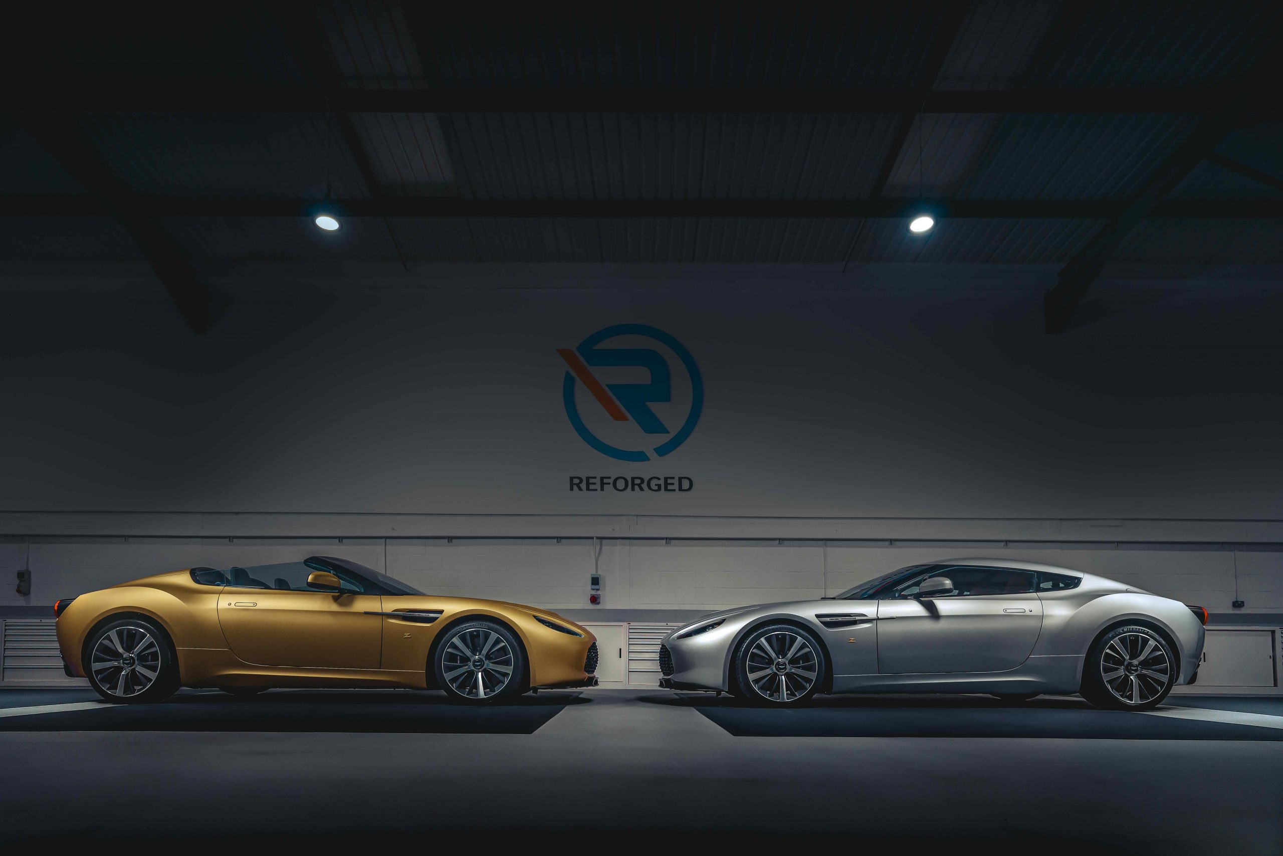 100 years of Zagato marked by R-Reforged Vantage V12